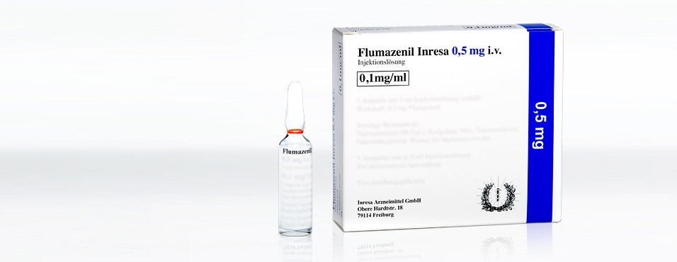 Flumazenil Inresa 0.5 mg i.v.