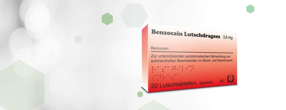 Benzocain Lutschdragees 3,6 mg