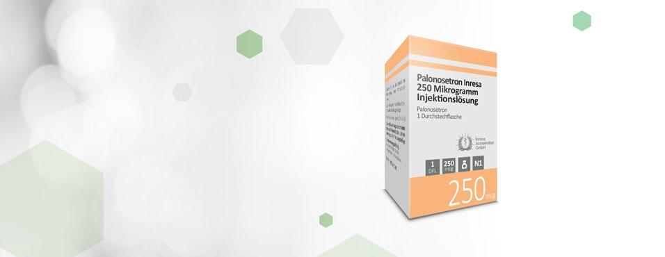 Palonosetron Inresa 250 Mikrogramm Injektionslösung