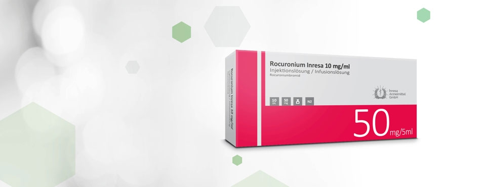 Rocuronium Inresa 10 mg/ml (5 ml)