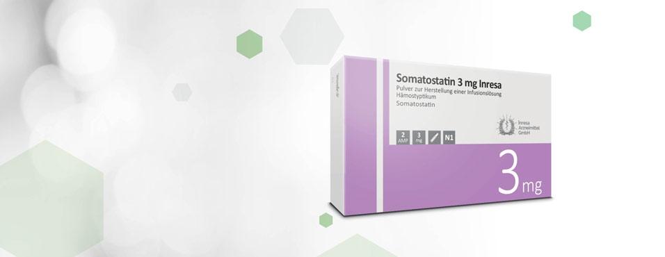 Somatostatin 3 mg Inresa 2AMP