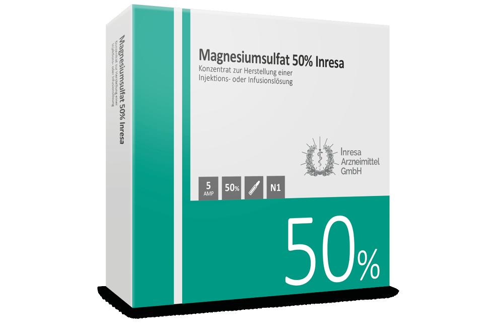 Magnesiumsulfat 50% Inresa