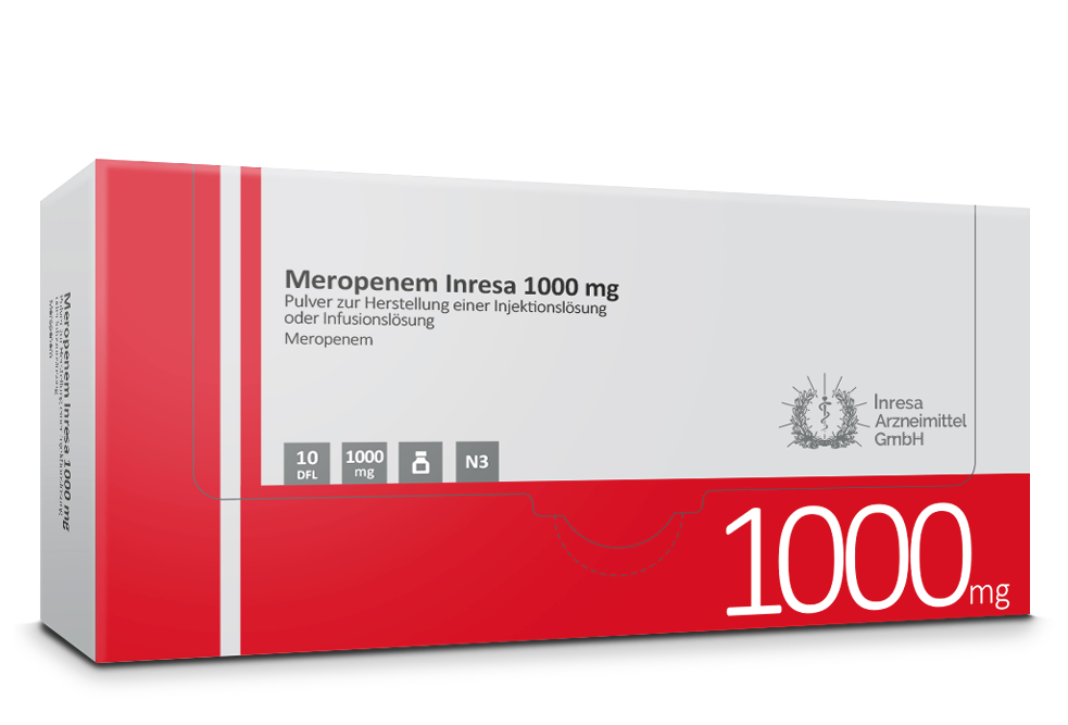 Meropenem Inresa 1000 mg