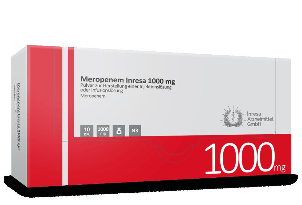 Meropenem Inresa 1000 mg