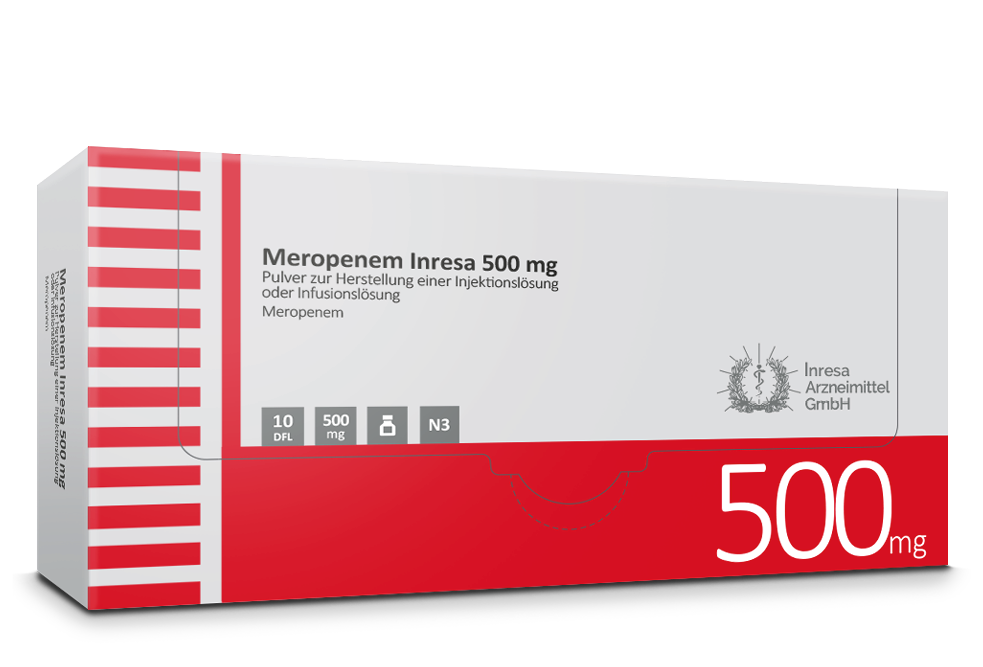 Meropenem Inresa 500 mg