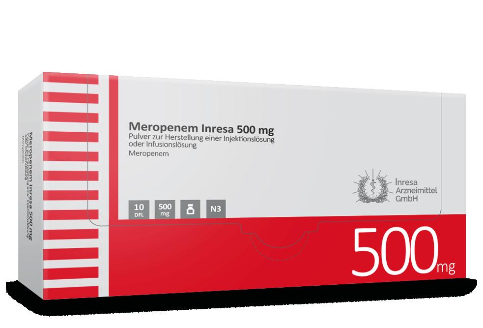 Meropenem Inresa 500 mg