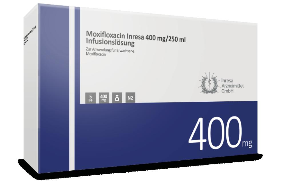 Moxifloxacin Inresa 400 mg/250 ml Infusionslösung
