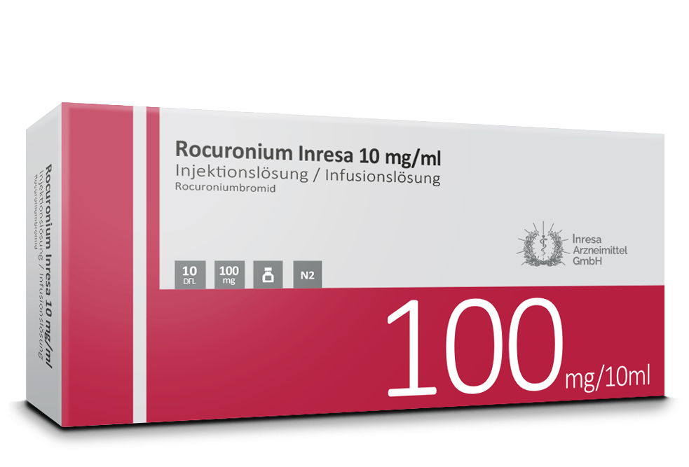 Rocuronium Inresa 10 mg/ml (10 ml)