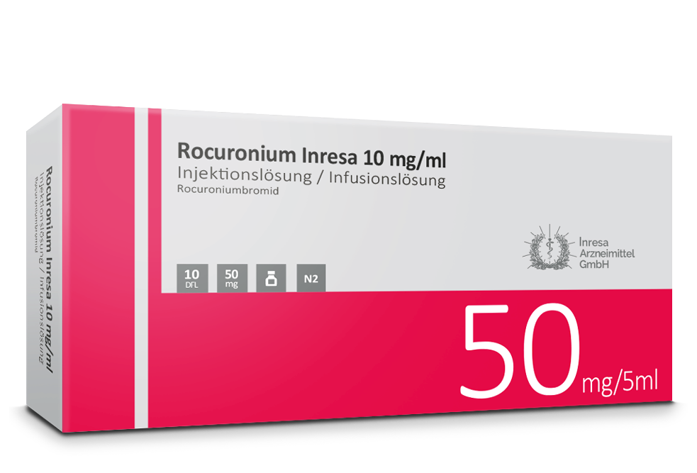 Rocuronium Inresa 10 mg / ml (5 ml)