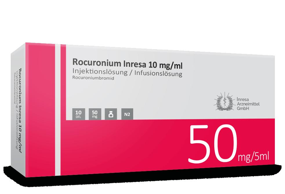 Rocuronium Inresa 10 mg / ml (5 ml)