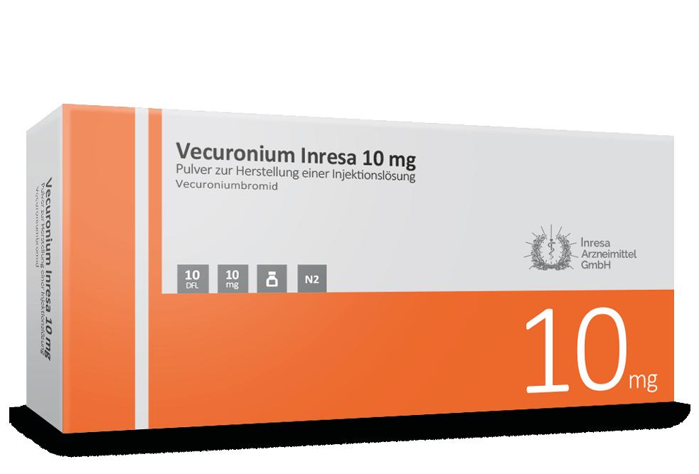 Vecuronium Inresa 10 mg